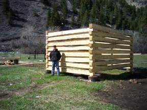 How To Build A Cabin by How To Build A Cabin Using Dovetailed Notches