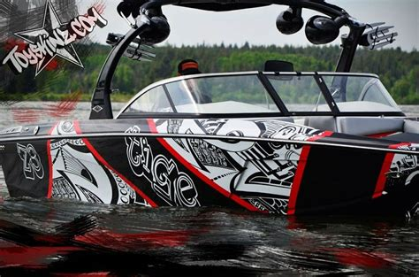 ski boat wrap ideas 20 best ideas for boat graphics images on pinterest boat