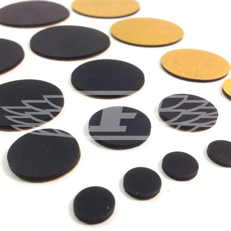 Sleeper Decking by 10mm 20mm 30mm 40mm 45mm Self Adhesive Rubber Discs Chairs