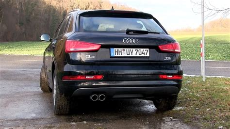 Audi Q3 Test Video by 2016 Audi Q3 S Line Quattro 2 0 Tdi 184 Hp Test Drive