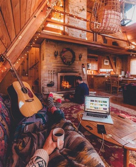 rustic and cosy cabin decor panda s house 25 best ideas about cozy cabin on pinterest mountain