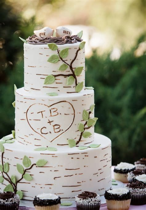 tree cake ideas 20 rustic wedding cakes for fall wedding 2015 tulle