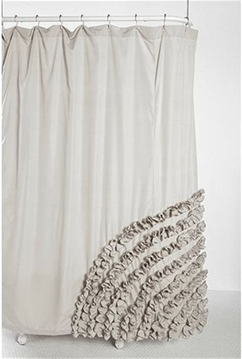 urban outfitters ruffle shower curtain ruffle shower curtain sewing pinterest
