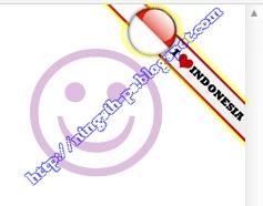 cara membuat virus i love you cara membuat widget i love indonesia di blog avomedotcom