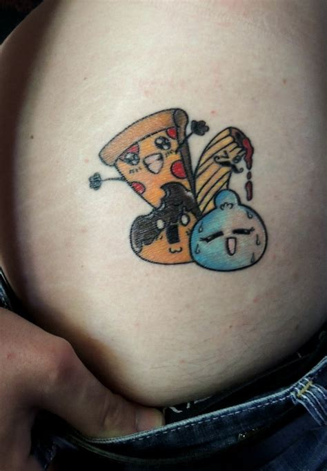 tattoo placement stereotypes foodlover mozzarella pizza pasta profitteroles