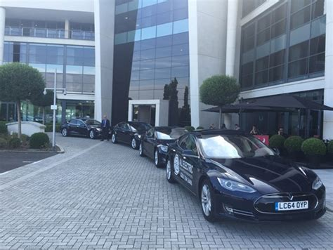 All Electric Tesla All Electric Chauffeur Services Launches Term Tesla