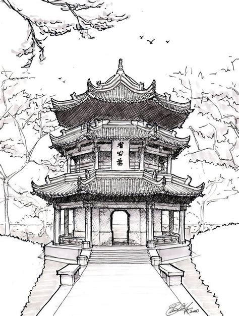 chinese architecture on pinterest japanese architecture famous japanese temples drawings google search art
