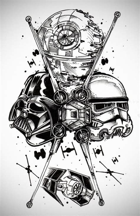 star wars tattoo design 17 wars tattoos designs