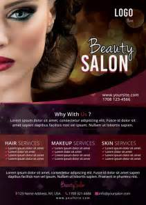 salon flyer templates free the free salon flyer template for photoshop