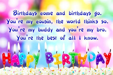 Happy Birthday Quotes Cousin 60 Happy Birthday Cousin Wishes Images And Quotes