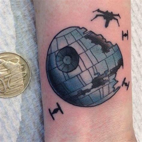 death star tattoo 73 terrific ideas and designed by