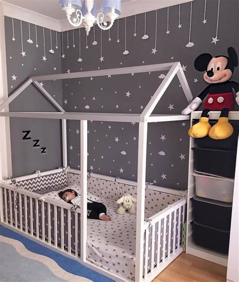 hausbett 90x200 20 toddler boy bedroom ideas