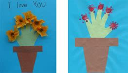 Mother S Day Flower Crafts