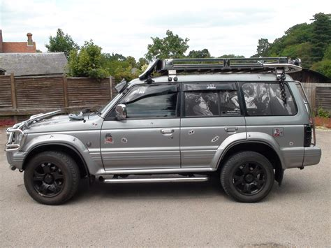 mitsubishi pajero modified showgy1 1995 mitsubishi pajero specs photos modification