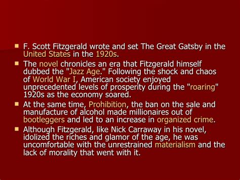 literary themes of the great gatsby wynberg girls high jackie kunze english the great gatsby