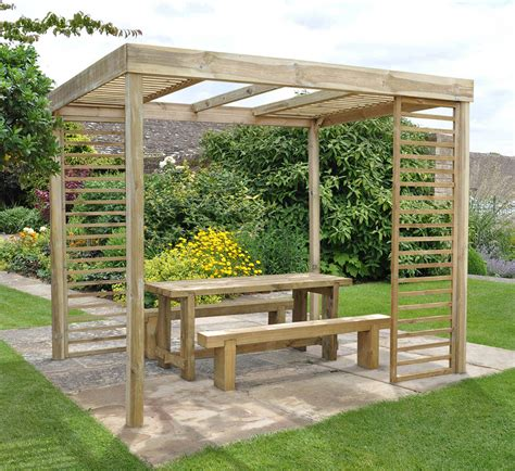 Patio Home Plans by Dining Pergola Forest Garden