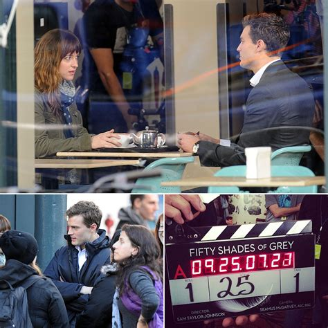 fifty shades of grey movie australia fifty shades of grey movie set pictures popsugar