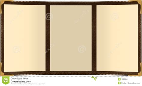 trifold menu stock illustration illustration of food
