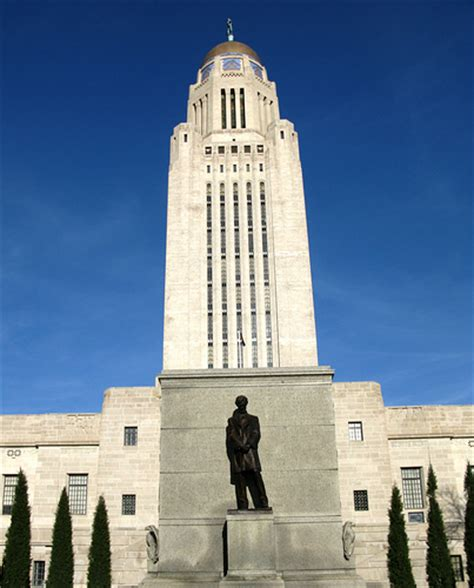 lincoln is the capital of what state lincoln in lincoln nebraska state capitol a photo on