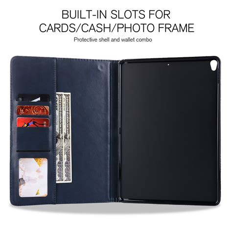 Smart Cover 234 Casing Leather genuine ultra thin leather tablet smart cover for apple 234 air air 2 ebay