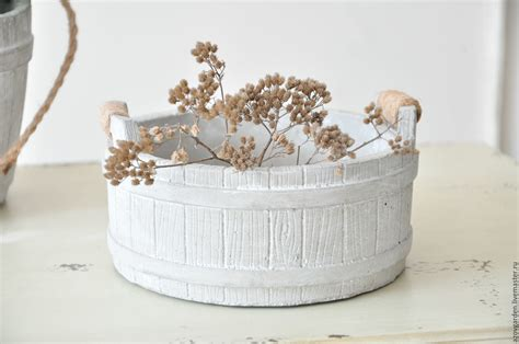 Provence Planters by Concrete Planter With Rope Handles Provence