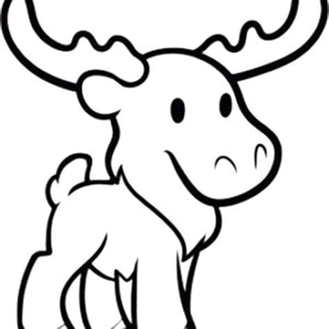 cute moose coloring pages cute pineapple outline clipart panda free clipart images