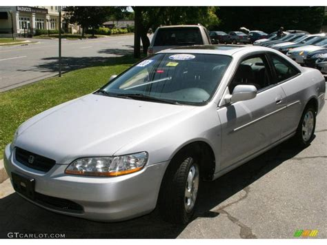 2000 honda accord coupe silver 2000 satin silver metallic honda accord ex coupe 14211427