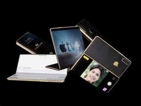 flexible iphone  concept  foldable display youtube