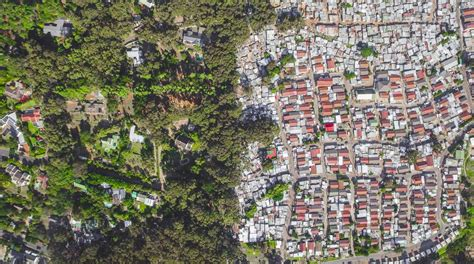 rich of africa others drone photos show the divide between rich and poor in south africa