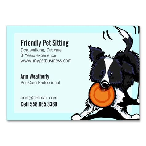 pet sitting business cards template 2185 best animal pet care business card templates images