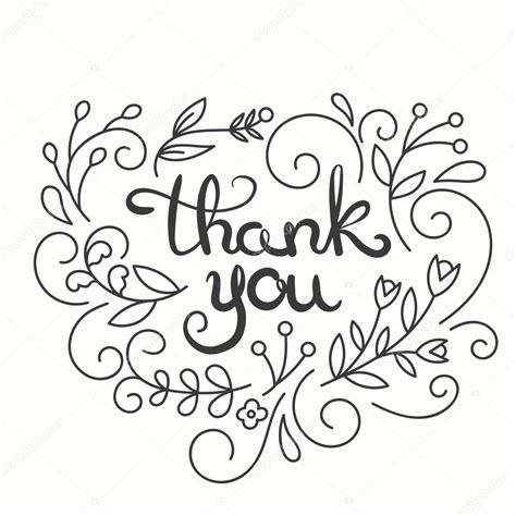 thank you cards for dinner template biglietto di ringraziamento disegnato a mano disegno di