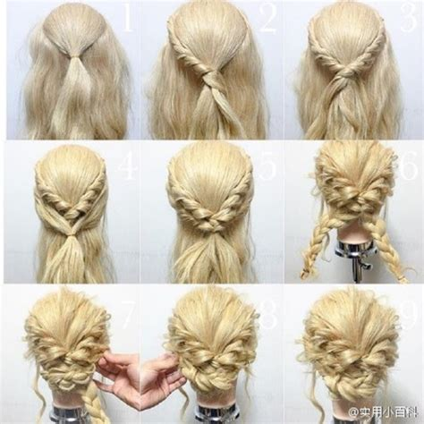 directions for easy updos for medium hair hair tutorial braids pinterest tutorials hair style