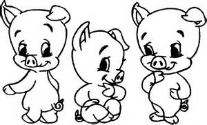pig 3 pigs coloring pages