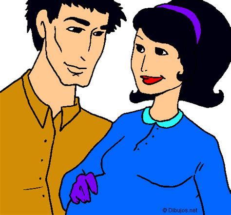 imagenes niños y padres dibujo de padre y madre pintado por padres en dibujos net