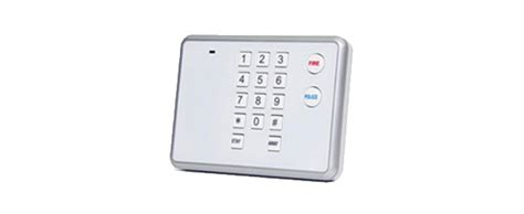 system components chubb home security alarm