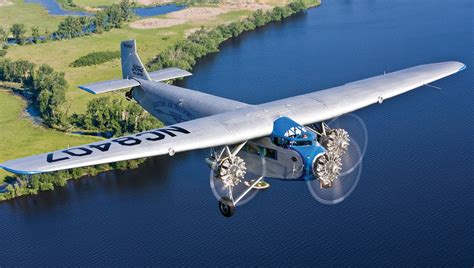 Ford Trimotor by Eaa S Ford Tri Motor Flying After Major Overhaul Eaa