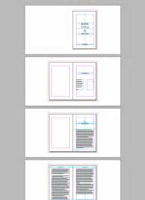 book jacket template indesign book template free indesign templates