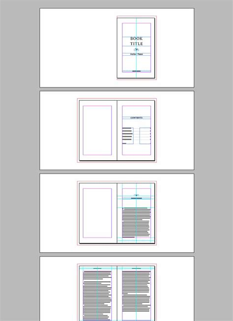 indesign book layout templates book template for indesign free