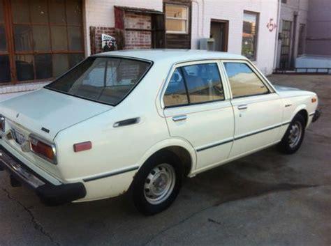 1979 Toyota Corolla For Sale Buy Used 1979 Toyota Corolla Custom Sedan 4 Door 1 2l In