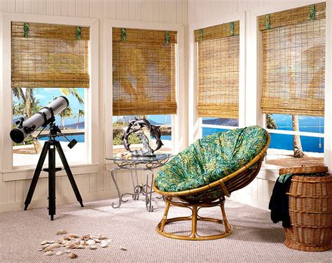 bamboo furniture bamboo blinds flooring chairs curtains bring home the holiday vibe 20 relaxing tropical sunrooms