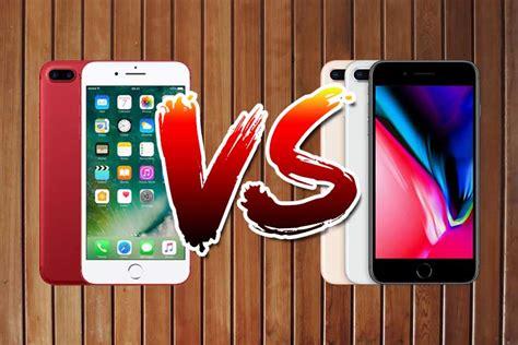 iphone 7 plus vs iphone 8 plus comparison