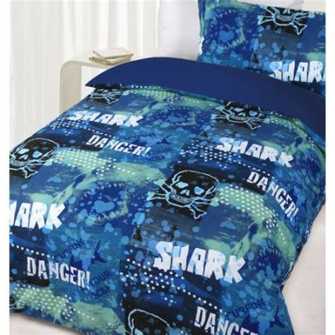 glow in the dark bedding glow in the dark queen bed danger shark quilt cover set crazy sales
