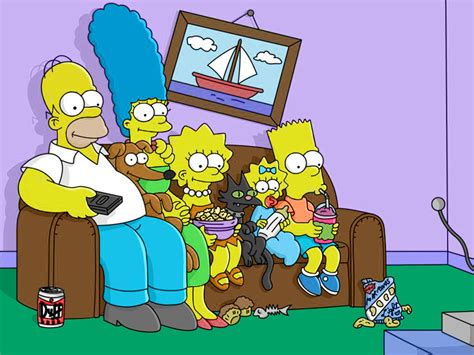 simpsons sofa photo manipulation adam s portfolio