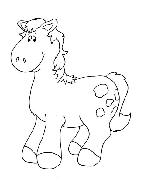 horse coloring page print out horse pictures to print out coloring home
