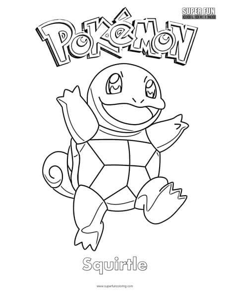 squirtle coloring page pok 233 mon squirtle coloring page coloring