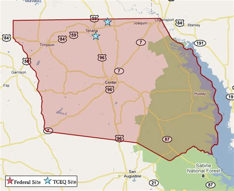 shelby county texas map superfund in shelby county tceq www tceq texas gov