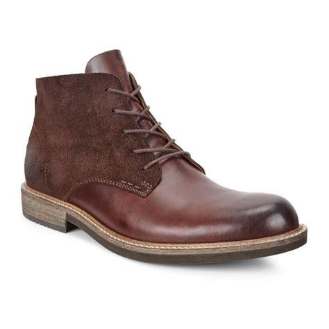 ecco mens boots ecco kenton 51205450255 mink mocha mens casual boots