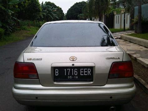All New Corolla Seg 1 6 1996 toyota corolla all new 1 6cc seg matic th 1996 kondisi