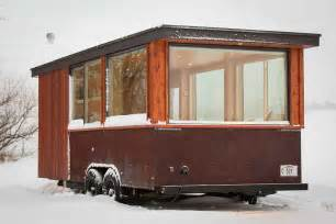 towable tiny house cabin on wheels