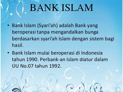 perbankan islam dan asuransi syariah
